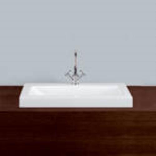 alape aufsatzbecken ab r800h rechteckig 800 x 500 x 75 mm. Black Bedroom Furniture Sets. Home Design Ideas