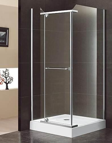 duschkabine mit seitenwand und dreht r 1000x1000x20550 mm anschlag links. Black Bedroom Furniture Sets. Home Design Ideas