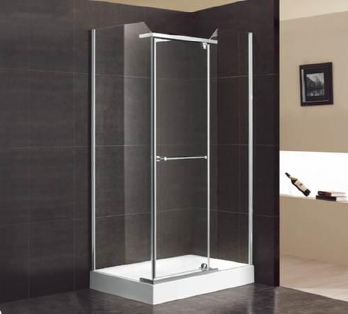 duschkabine mit seitenwand und dreht r 800x1200x2050 mm anschlag rechts. Black Bedroom Furniture Sets. Home Design Ideas